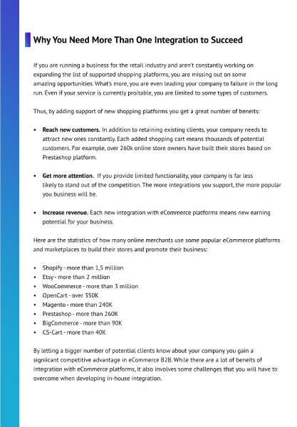 Multi-Channel API Integration