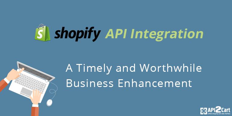 shopify API integration