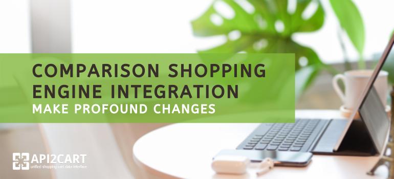 comparison shopping engine integration