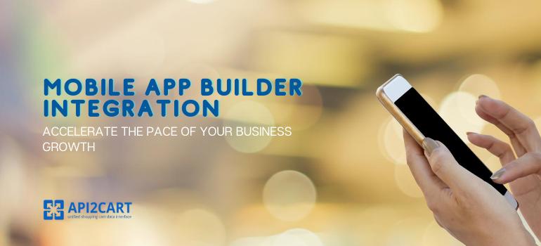 mobile app builder integration