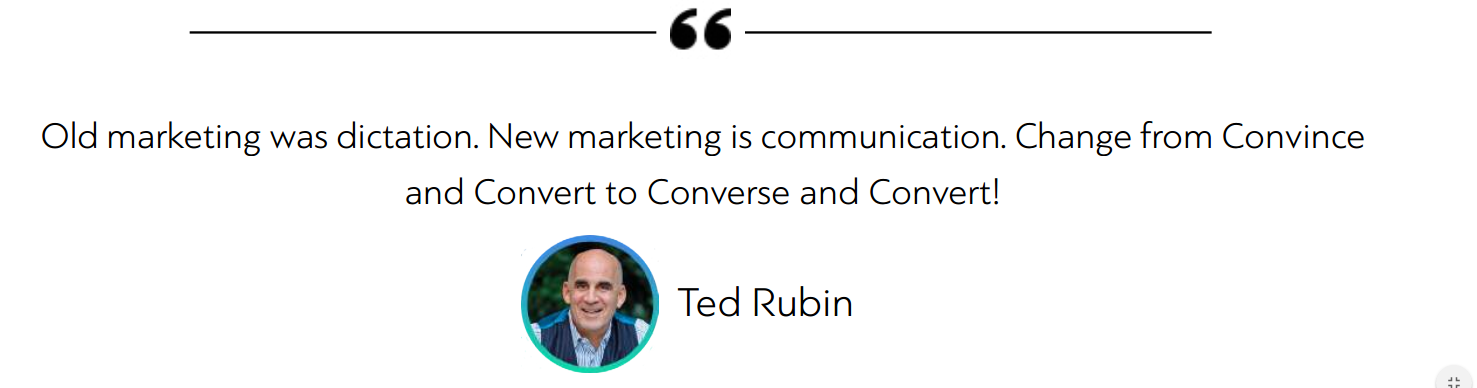 b2b ecommerce marketing quote