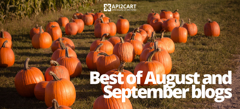 Best of August and September Blogs