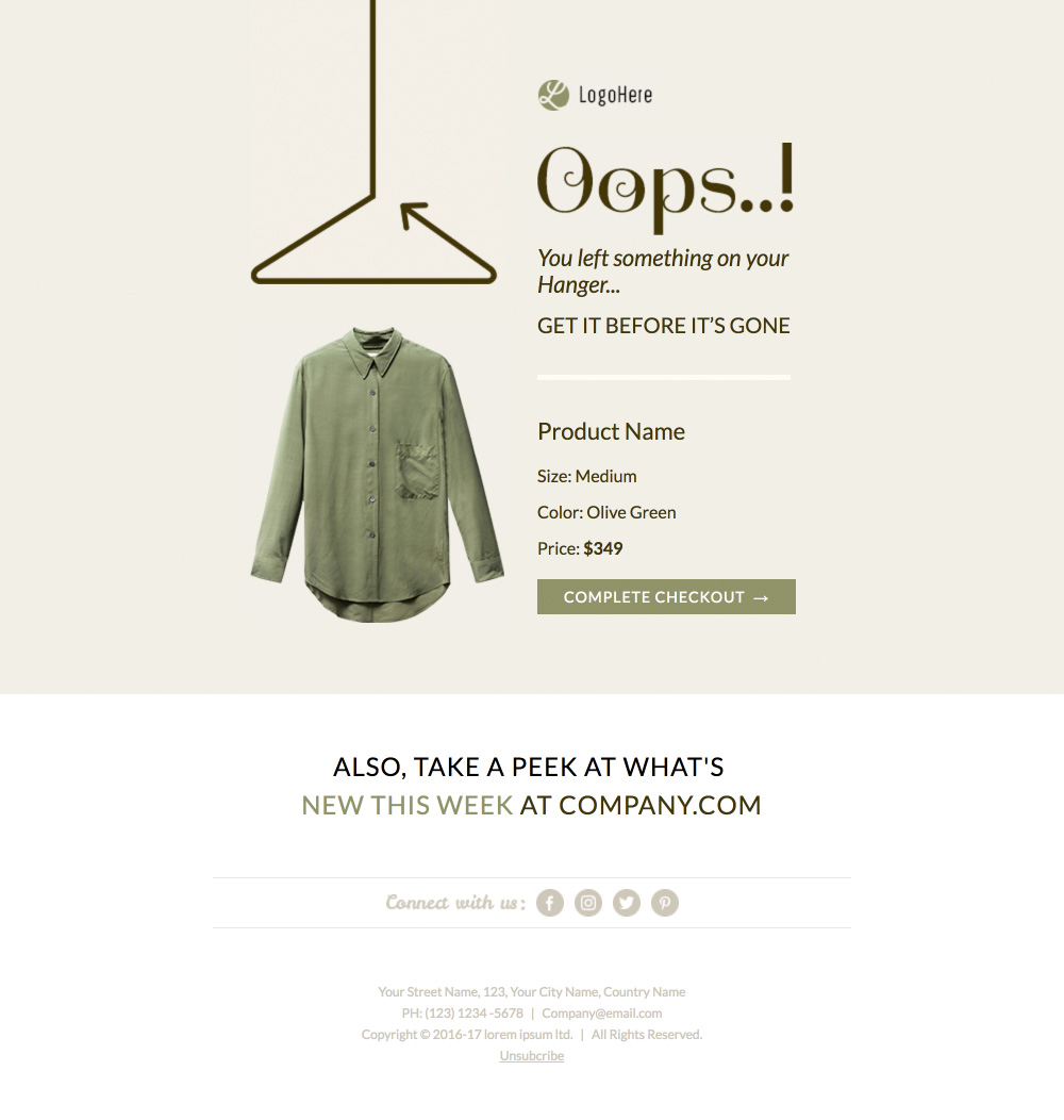 litmus email template