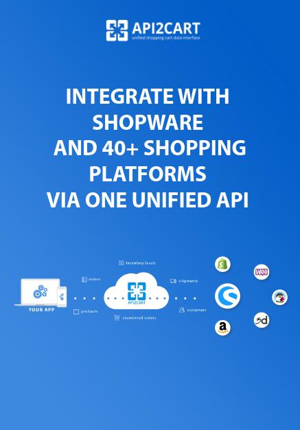 Shopware API Integration