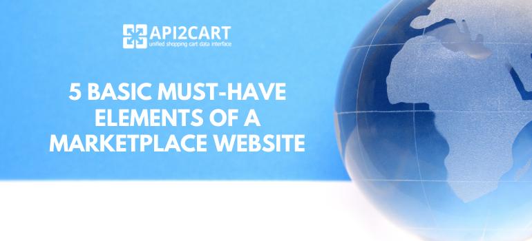 build marketplace website