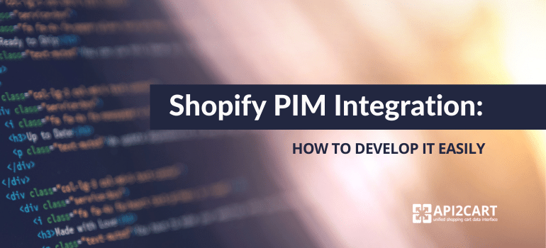 shopify pim integration