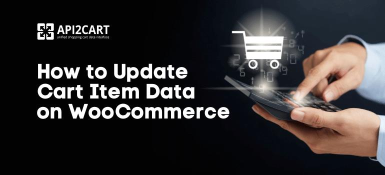 Update Cart Item Data on WooCommerce