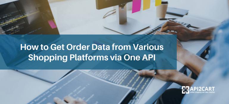 get order data